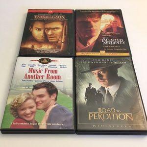 Jude Law DVD Movie Bundle